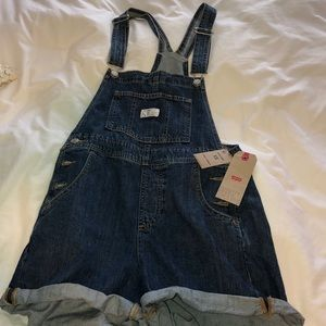 Levi overall NWT